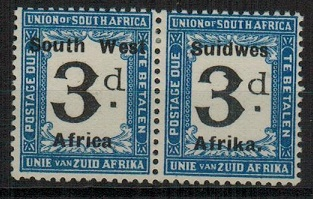 SOUTH WEST AFRICA - 1923 3d