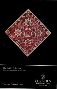 NOVA SCOTIA - Christies auction catalogue