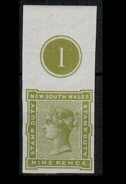 AUSTRALIA (New South Wales) - 1881 9d green