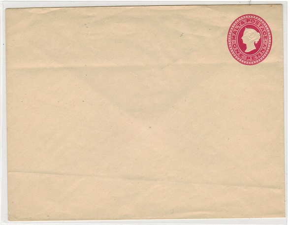 MALTA - 1900 1d deep rose PSE unused.  H&G 1c.