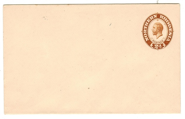 NORTHERN RHODESIA - 1924 2d light brown PSE unused.  H&G 1a.