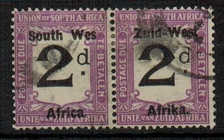 SOUTH WEST AFRICA - 1923 2d