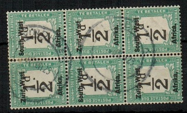 SOUTH WEST AFRICA - 1923 1/2d