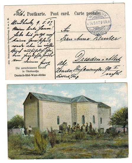 SOUTH WEST AFRICA (German Offices) - 1907 stampless