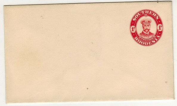 SOUTHERN RHODESIA - 1924 1d red PSE unused.  H&G 2.