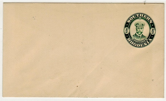 SOUTHERN RHODESIA - 1924 1/2d green PSE unused.  H&G 1a.