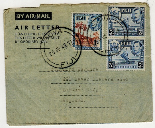FIJI - 1948 use of
