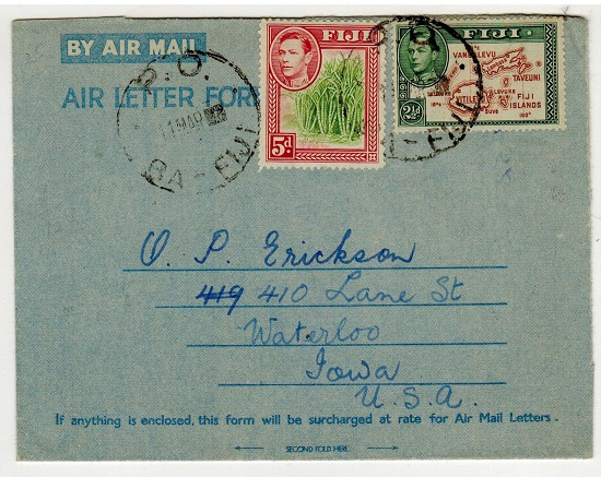 FIJI - 1952 use of