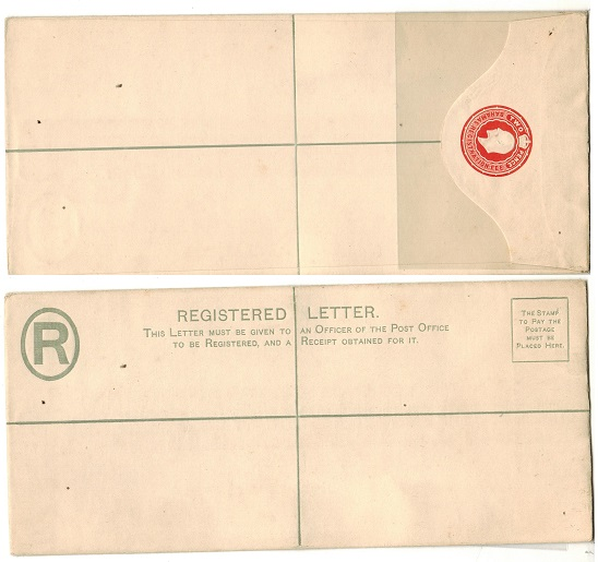 BAHAMAS - 1902 2d red RPSE (size H2) unused.  H&G 2b.