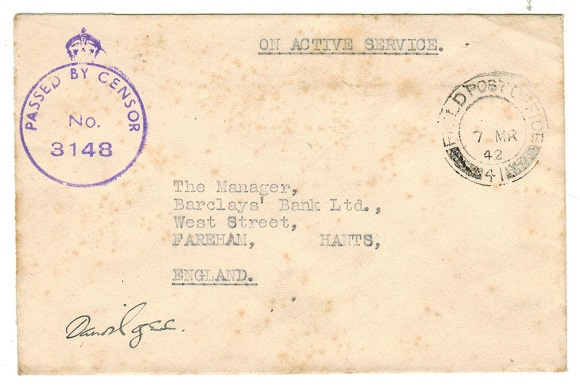 SIERRA LEONE - 1942 stampless