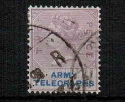 SOUTH AFRICA - 1899 2d lilac and blue