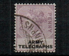 SOUTH AFRICA - 1899 1d lilac and black