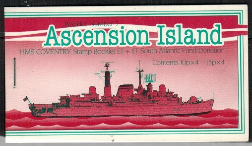 ASCENSION - 1982 £1 privately produced BOOKLET.