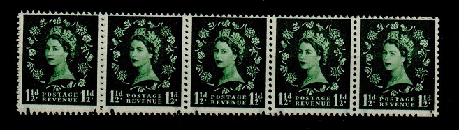 GREAT BRITAIN - 1957 1 1/2d