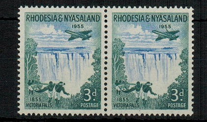 RHODESIA AND NYASALAND - 1955 3d