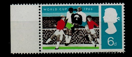 GREAT BRITAIN - 1966 6d