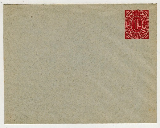 CAYMAN ISLANDS - 1909 1d red PSE unused.  H&G 1.
