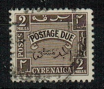 CYRENAICA EMIRATE - 1950 2m brown