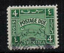 CYRENAICA EMIRATE - 1950 4m green