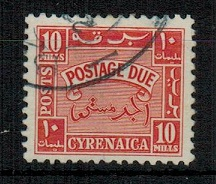 CYRENAICA EMIRATE - 1950 10m orange