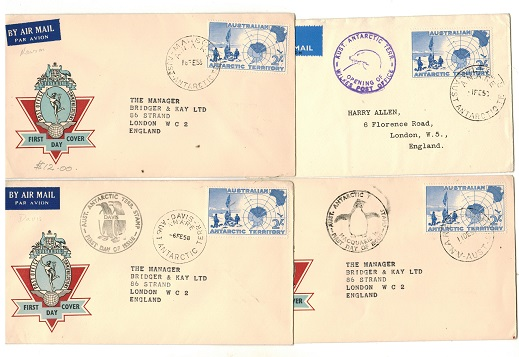 AUSTRALIA (Antarctic Territory) - Range of four different