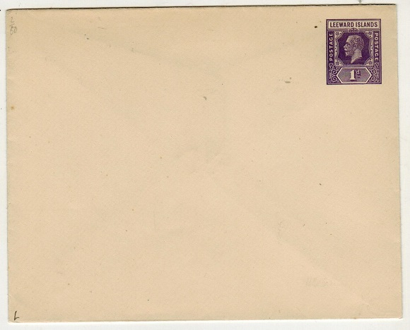 LEEWARD ISLANDS - 1926 1d violet PSE unused.  H&G 5.