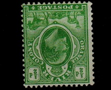 ORANGE RIVER COLONY - 1903 1/2d yellow-green mint with WATERMARK INVERTED. SG 139w.