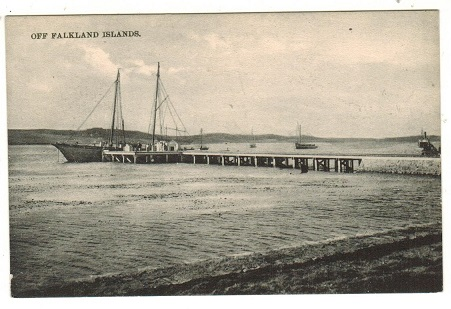 FALKLAND ISLANDS - 1920-30 (circa) unused picture postcard depicting