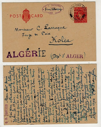MOROCCO AGENCIES - 1944 use of