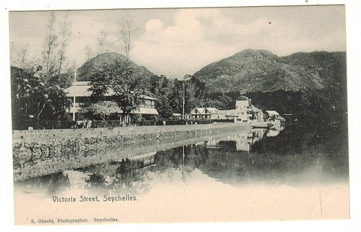 SEYCHELLES - 1905 (circa) unused picture postcard depicting