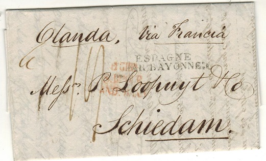 GIBRALTAR - 1826 stampless