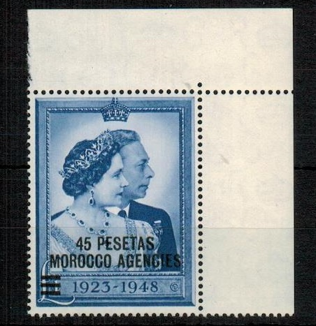 MOROCCO AGENCIES - 1948 £1