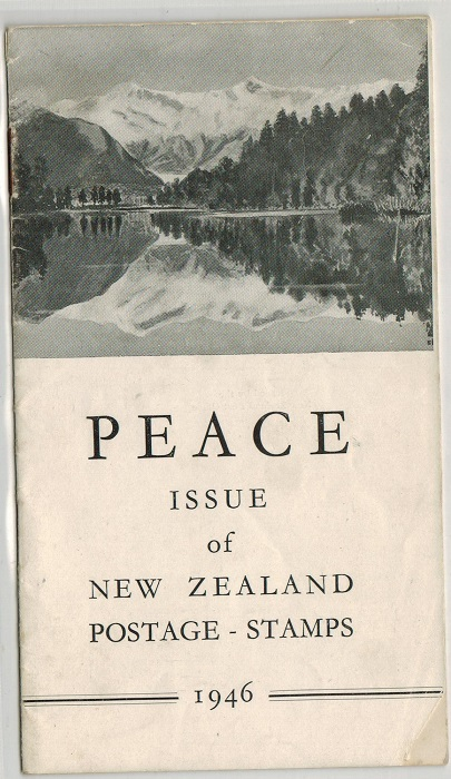 NEW ZEALAND - 1946 Official folder.