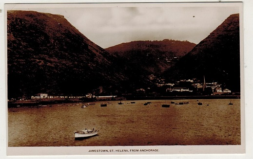 ST.HELENA - 1930 (circa) unused picture postcard depicting
