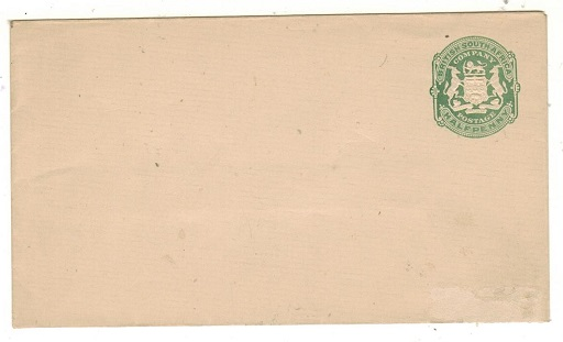 RHODESIA - 1904 1/2d green PSE unused.  H&G 1.