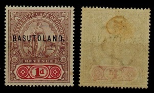 BASUTOLAND - 1901 1d lilac and red mint