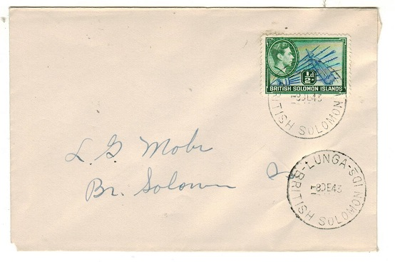 SOLOMON ISLANDS - 1943 philatelic