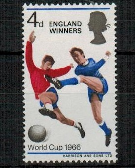 GREAT BRITAIN - 1966 4d