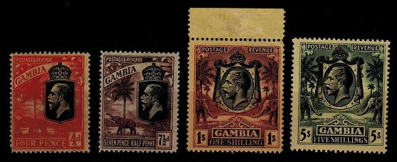 GAMBIA - 1922