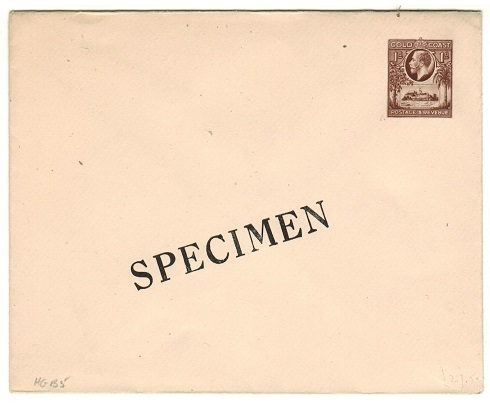 GOLD COAST - 1928 1d brown PSE unused SPECIMEN.  H&G 5.
