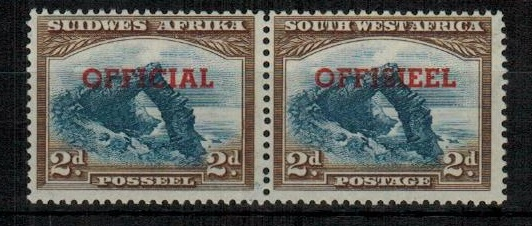 SOUTH WEST AFRICA - 1951 2d