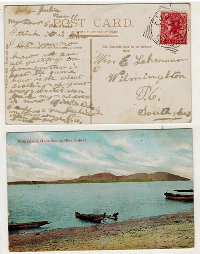 AUSTRALIA (South Australia) - 1912 1d rate postcard use locally used at EUDUNDA/S.A.