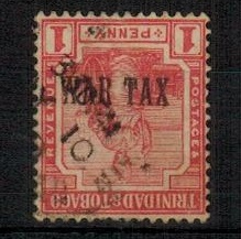TRINIDAD AND TOBAGO - 1917 1d red