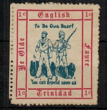 TRINIDAD AND TOBAGO - 1915 1c
