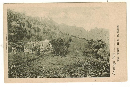 ST.HELENA - 1905 (circa) postcard in fine unused condition depicting