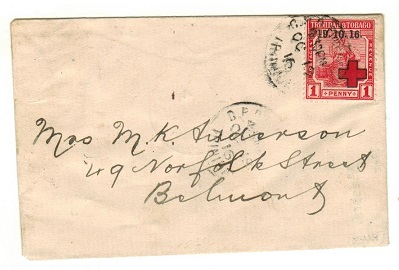 TRINIDAD AND TOBAGO - 1916 1d