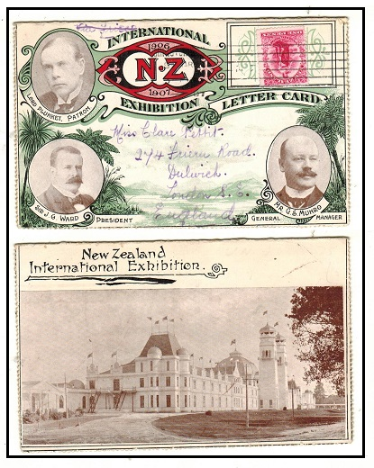 NEW ZEALAND - 1907 use of