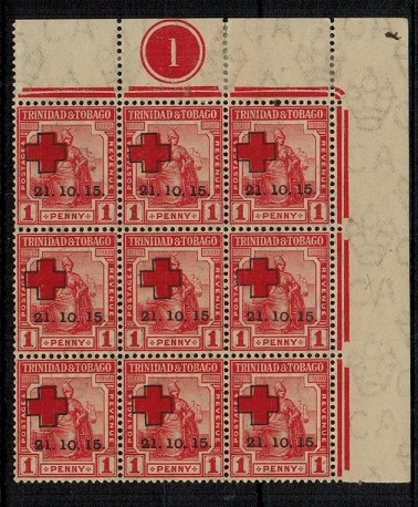 TRINIDAD AND TOBAGO - 1915 1d red