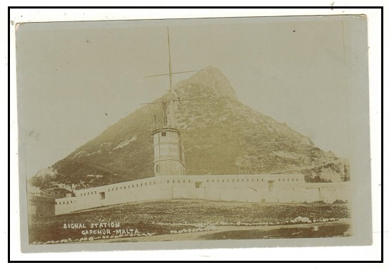 MALTA - 1900 (circa) unused postcard depicting