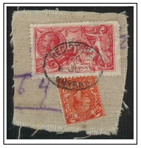 BRITISH LEVANT - 1923 use of